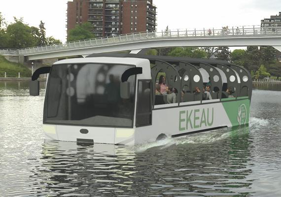 Amphibious vessel